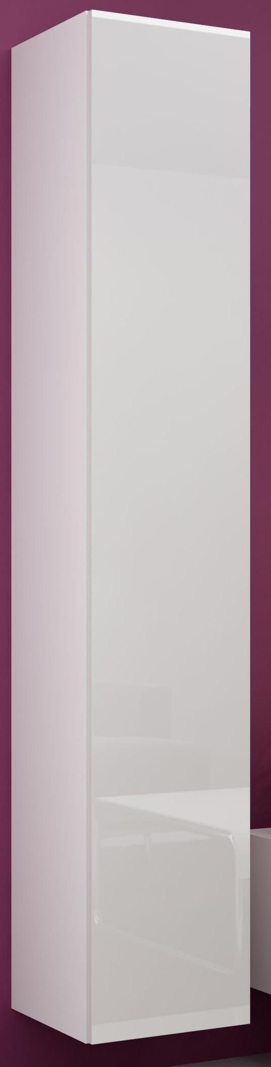 Skrinka na stenu - Famm - Vigo 180 plné dvierka biela