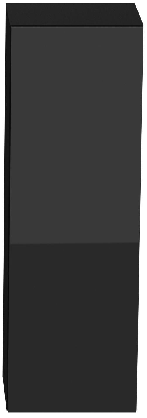 Skrinka na stenu - Famm - Vigo 90 čierna (plné dvierka)