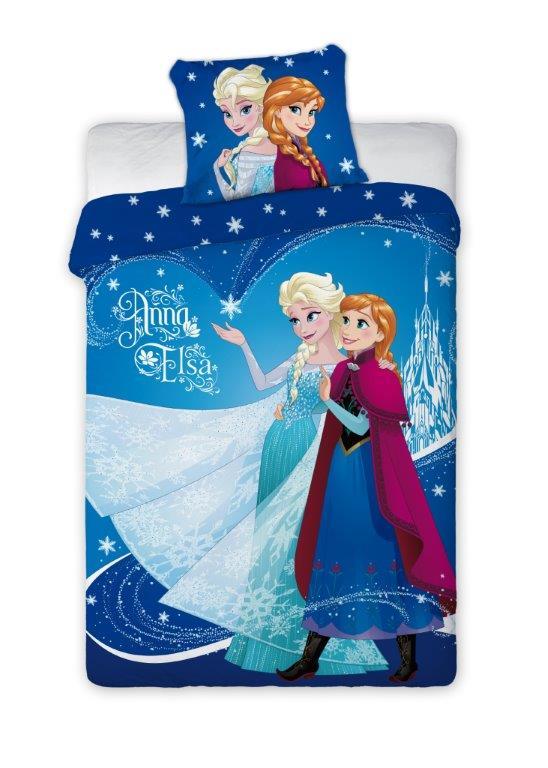 Detské obliečky 200x140 cm - MOB - Frozen - 001. Akcia -11%. Sme autorizovaný predajca Faro. Vlastná spoľahlivá doprava až k Vám domov.