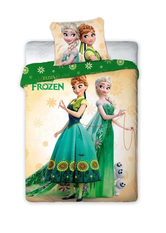 Detské obliečky 200x160 cm - MOB - Frozen Green 011. Akcia -6%. Sme autorizovaný predajca Faro. Vlastná spoľahlivá doprava až k Vám domov.
