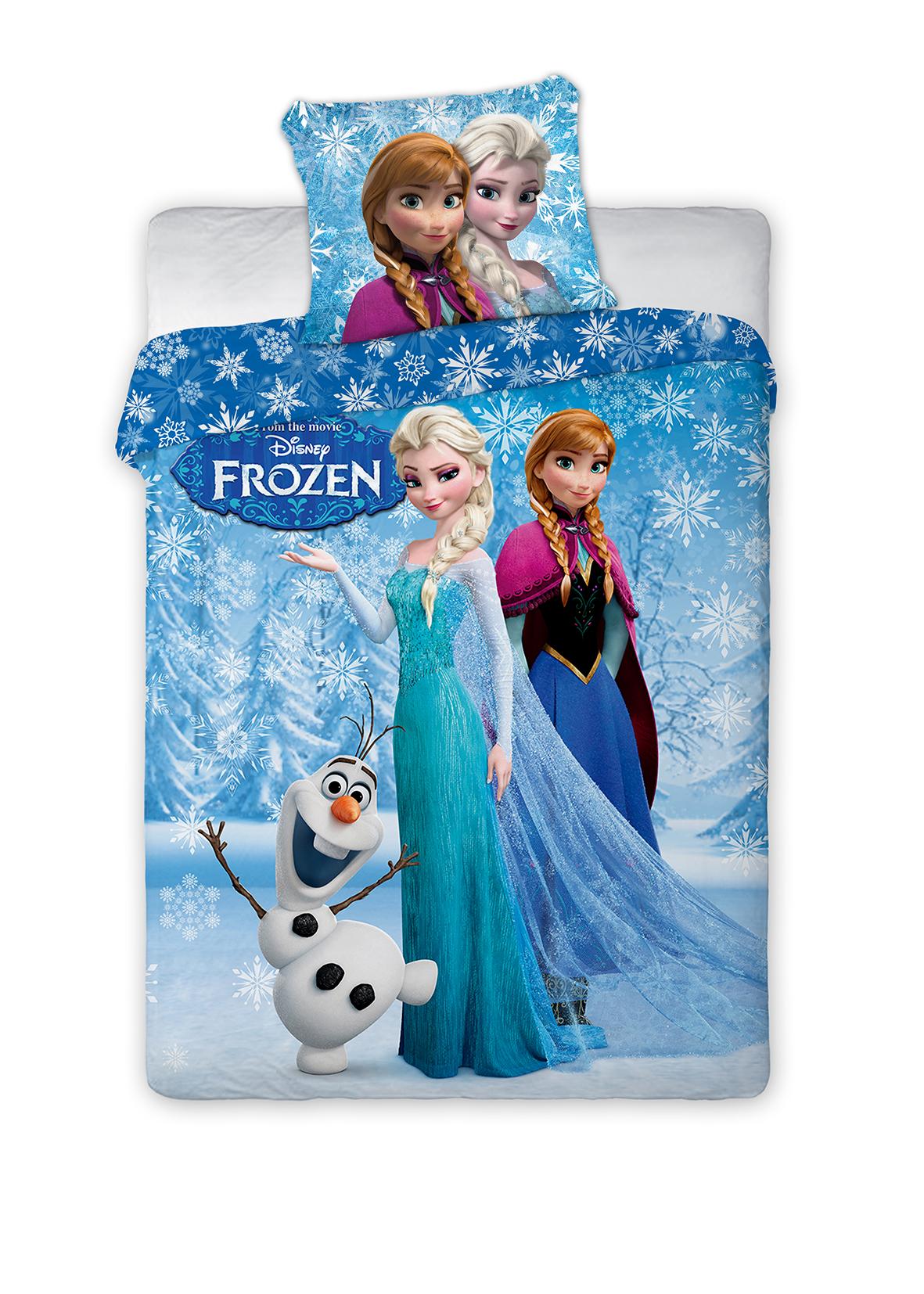 Detské obliečky 200x160 cm - Faro - MOB - Frozen - 002. Akcia -11%. Sme autorizovaný predajca Faro. Vlastná spoľahlivá doprava až k Vám domov.
