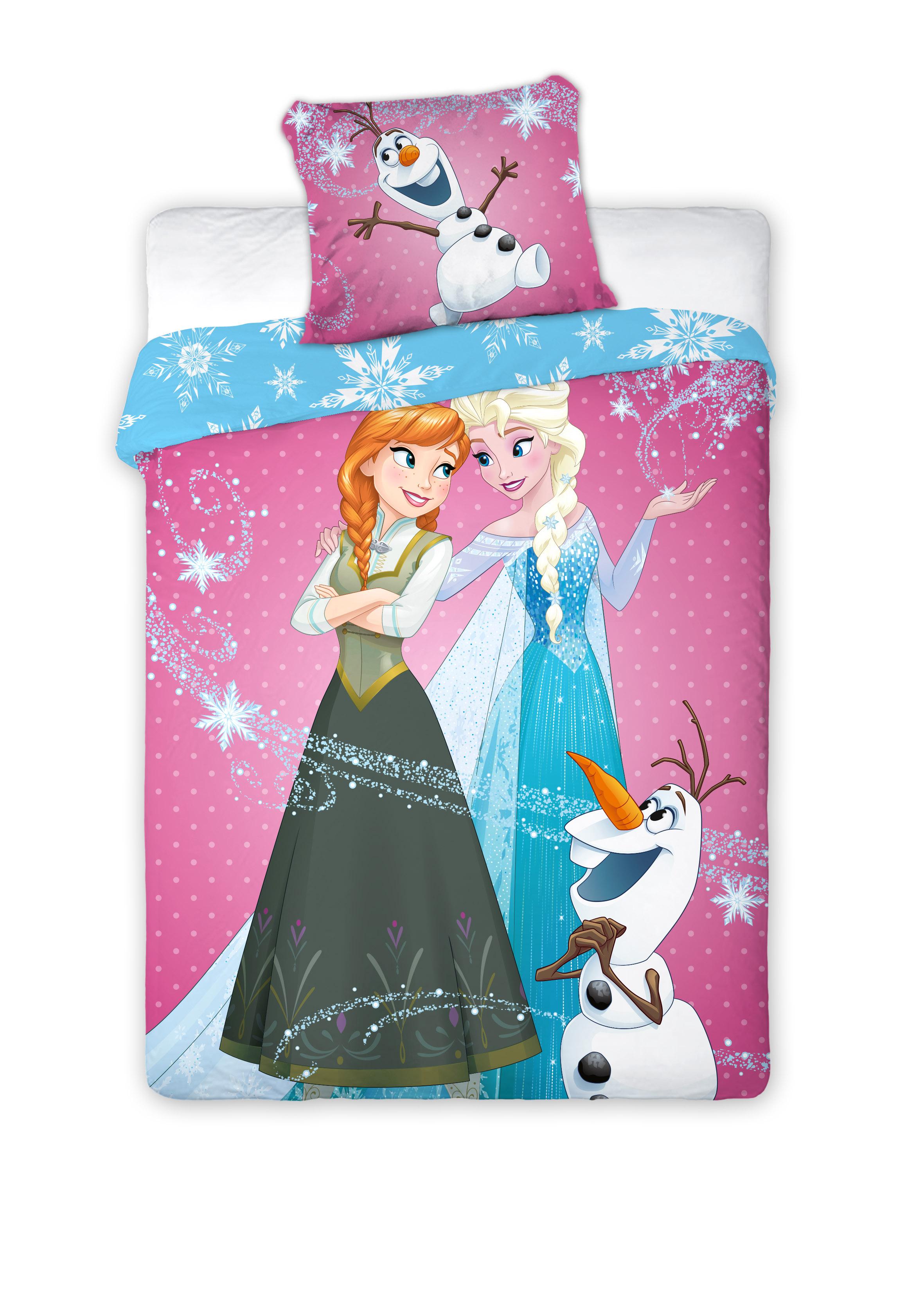 Detské obliečky 200x160 cm - Faro - MOB - Frozen - 048. Akcia -11%. Sme autorizovaný predajca Faro. Vlastná spoľahlivá doprava až k Vám domov.