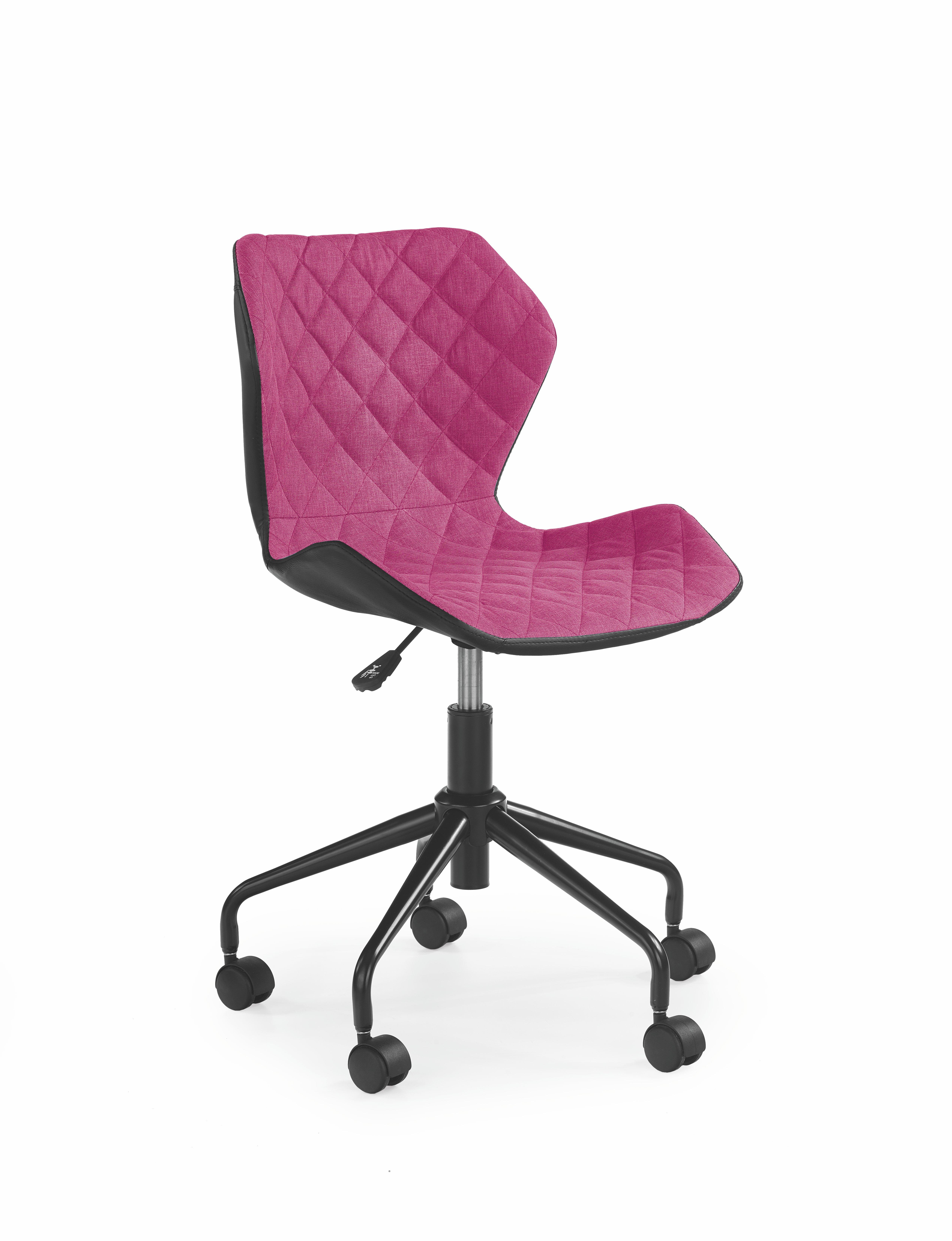 Detská stolička - Halmar - Matrix (ružová + čierna). Akcia -9%. Sme autorizovaný predajca Halmar. Vlastná spoľahlivá doprava až k Vám domov.