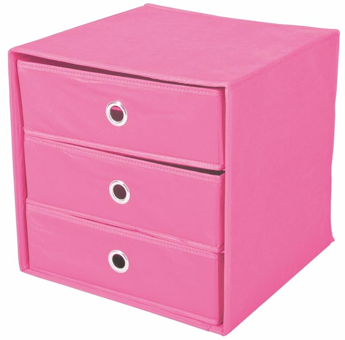 Zásuvka do regálu - Halmar - Willy ružová