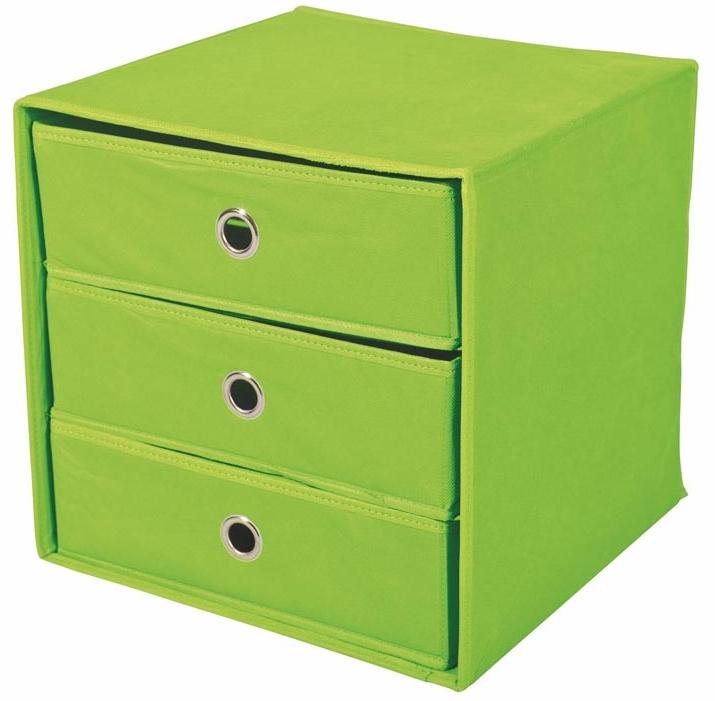 Zásuvka do regálu - Halmar - Willy zelená