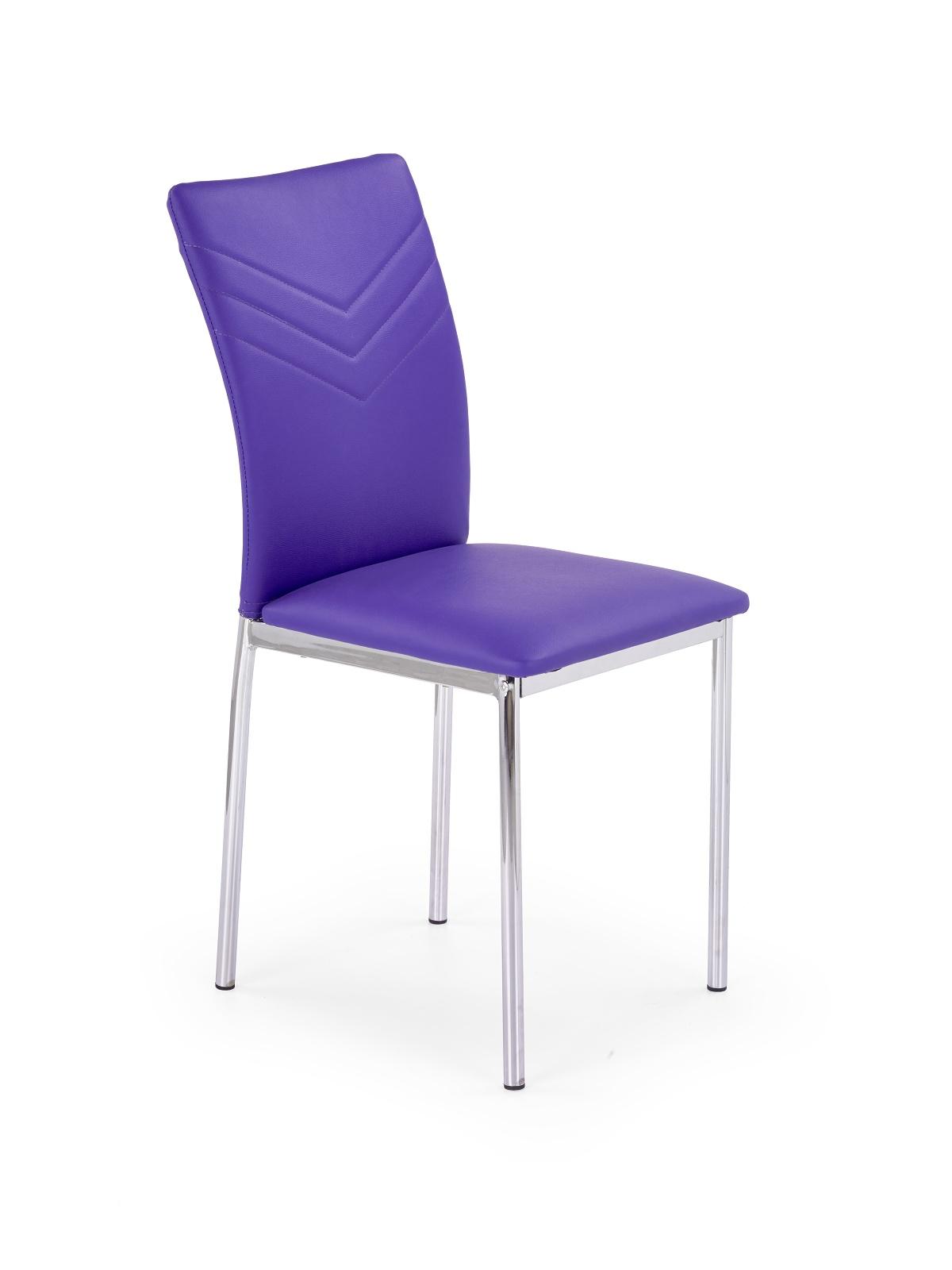 Jedálenská stolička - Halmar - K137 fialová