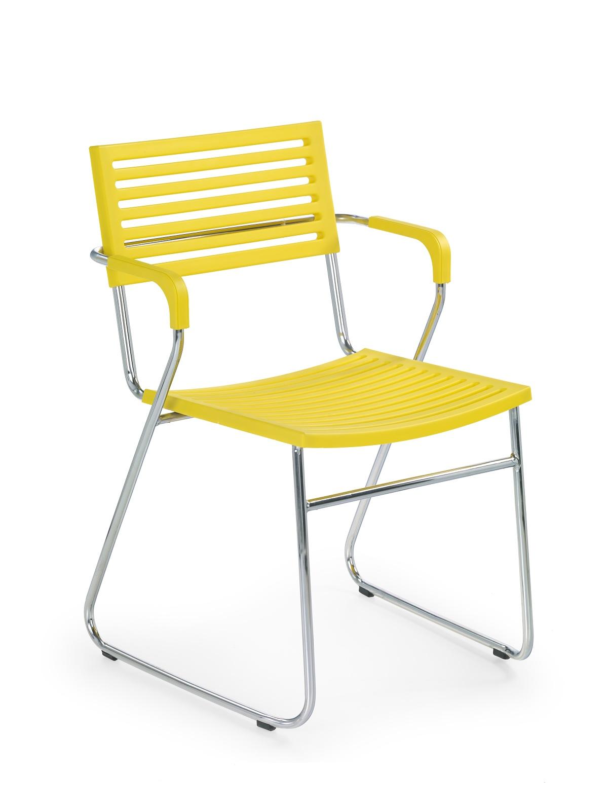 Jedálenská stolička - Halmar - K156 žltá