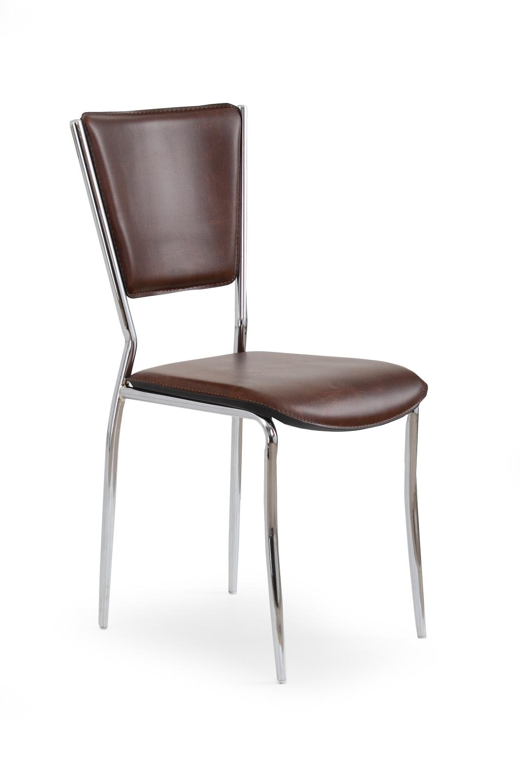 Jedálenská stolička - Halmar - K72C tmavohnedá