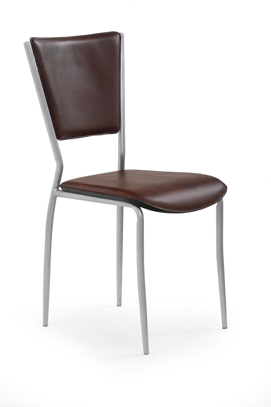 Jedálenská stolička - Halmar - K72M hnedá