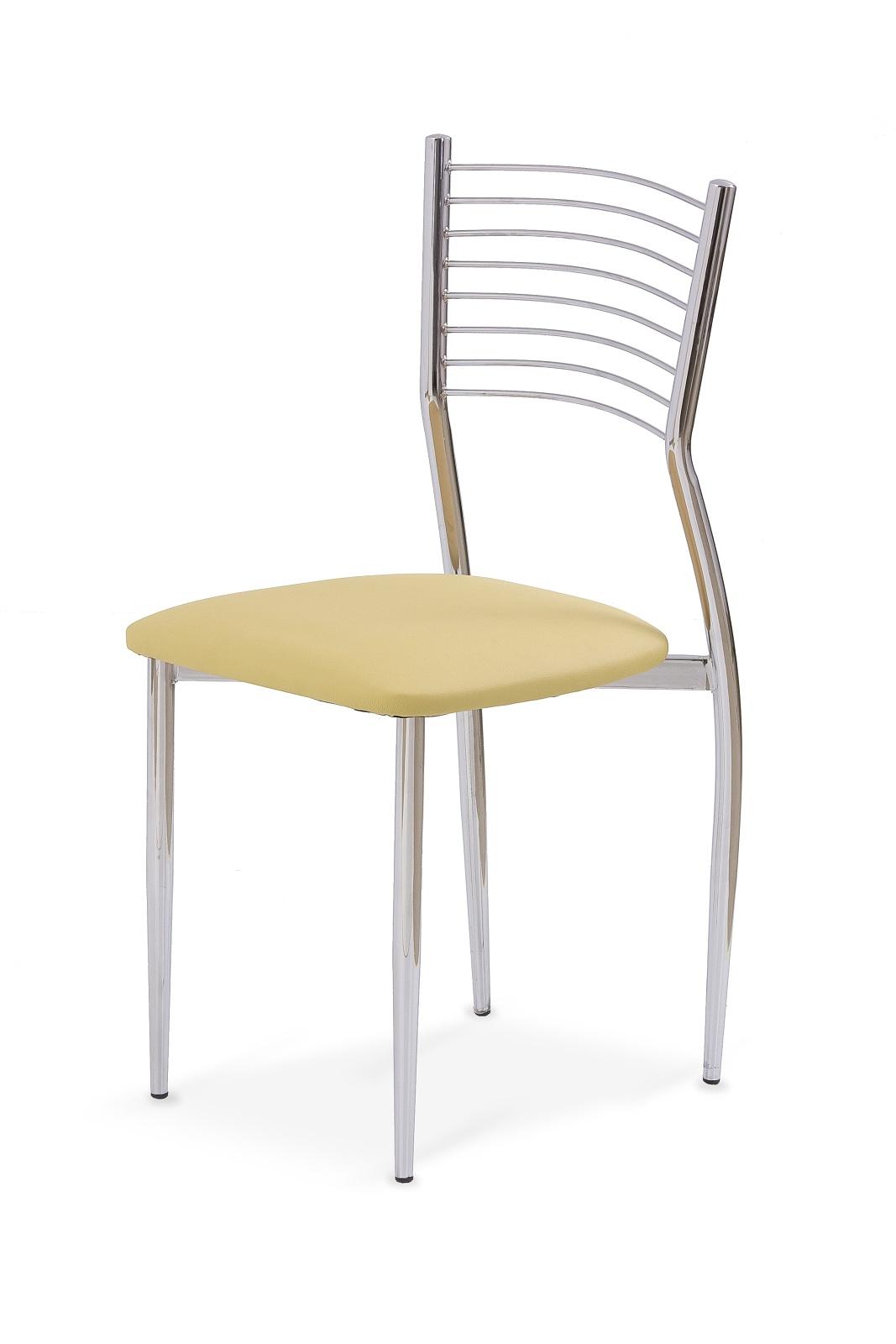 Jedálenská stolička - Halmar - K9 krémová