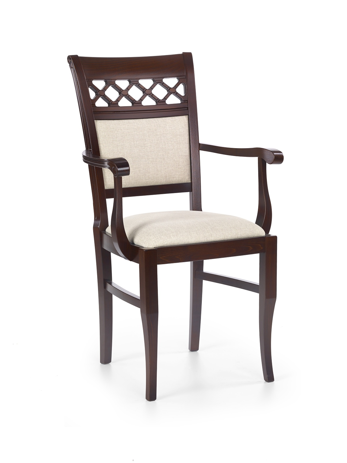 Jedálenská stolička - Halmar - Sebastian 3 P Orech tmavý