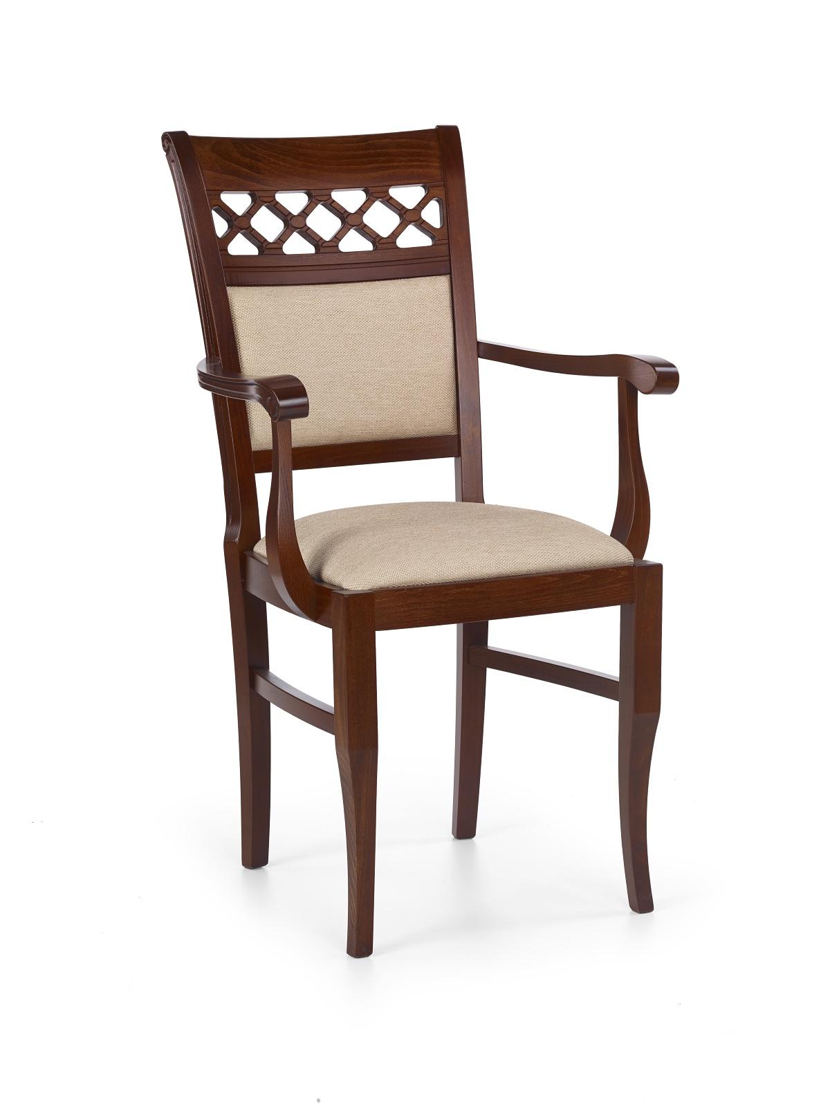 Jedálenská stolička - Halmar - Sebastian 3 P Čerešňa antická