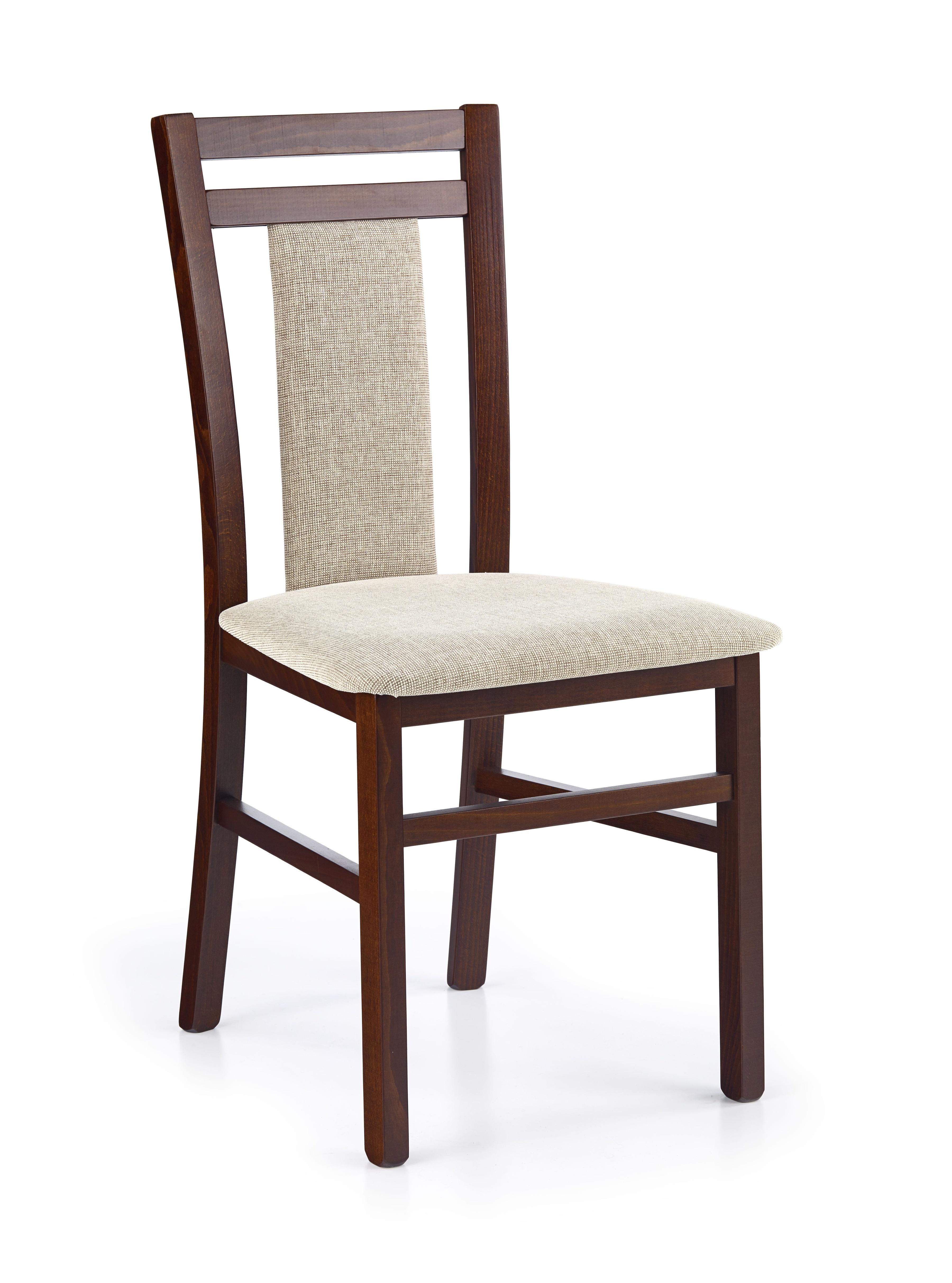 Jedálenská stolička - Halmar - HUBERT 8 Orech tmavy