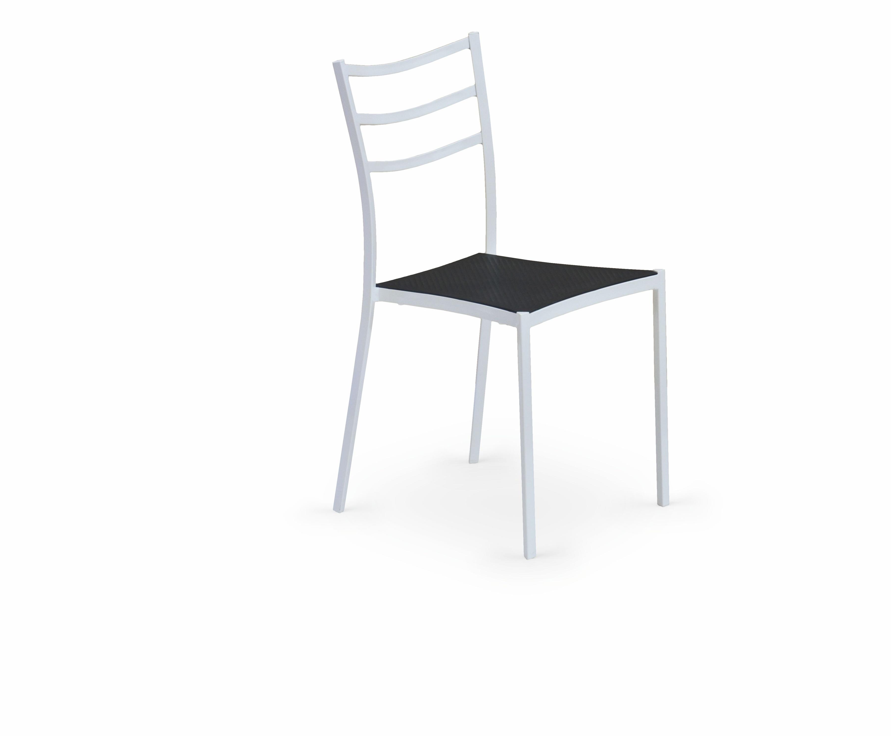 Jedálenská stolička - Halmar - K 159 biela + čierna *výpredaj