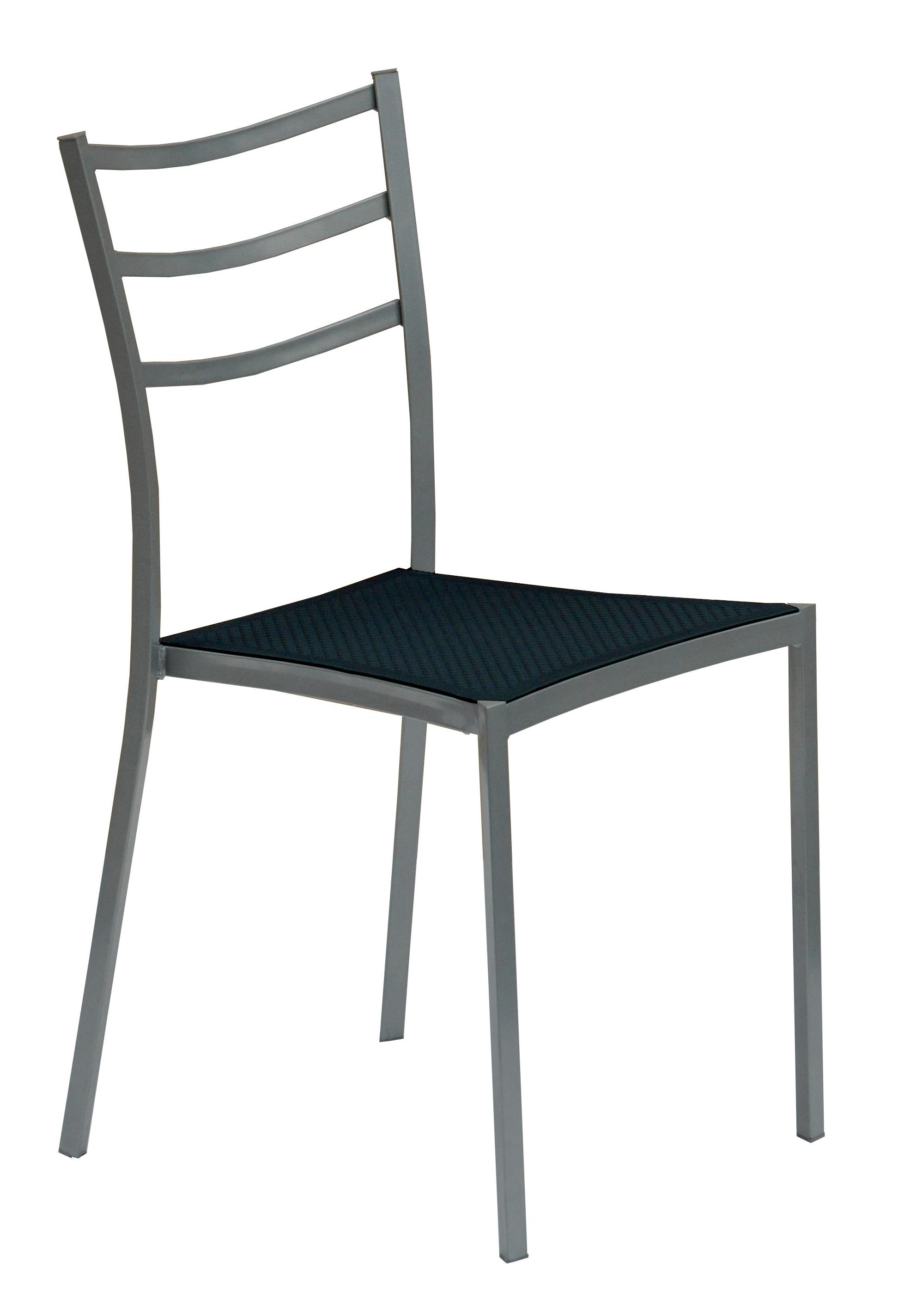 Jedálenská stolička - Halmar - K 159 šedá + čierna
