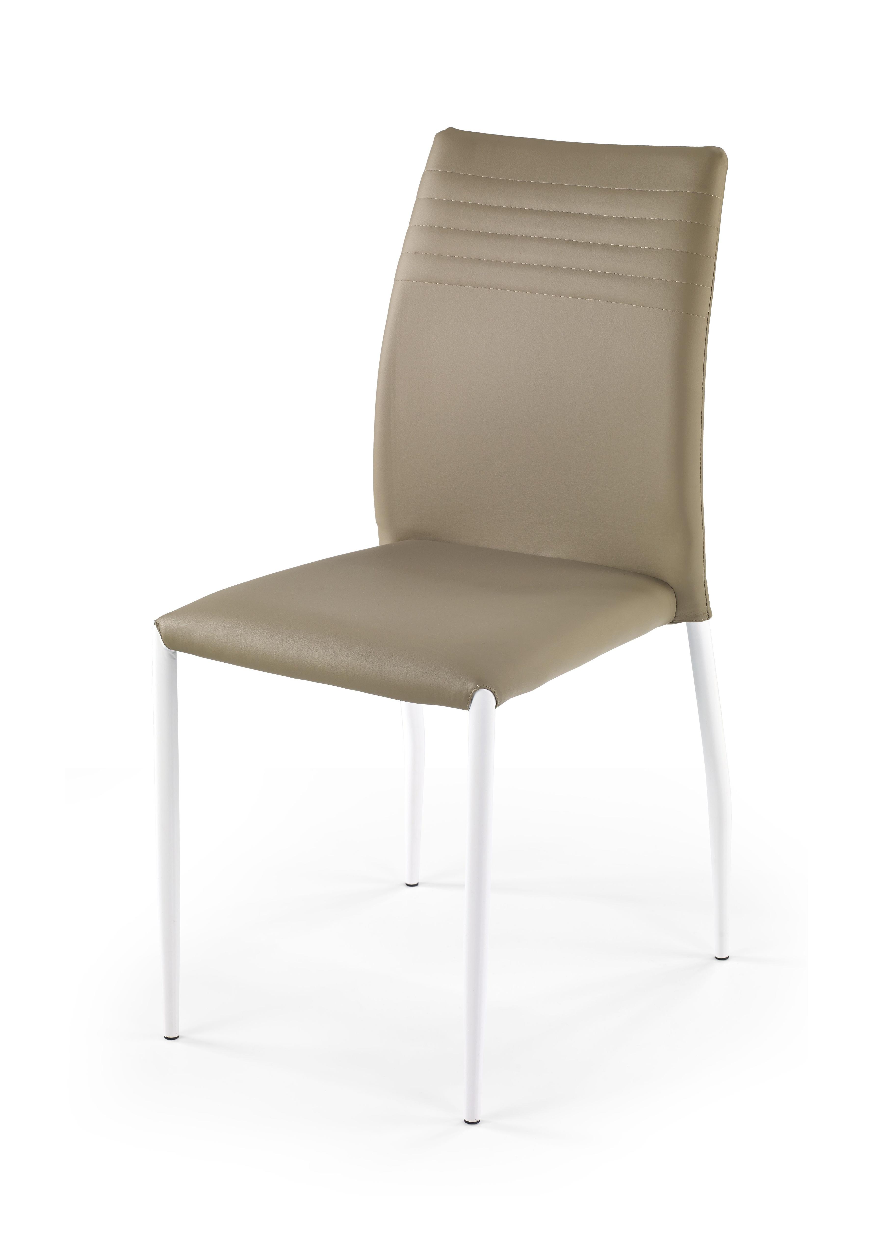 Jedálenská stolička - Halmar - K 168 biela + béžová