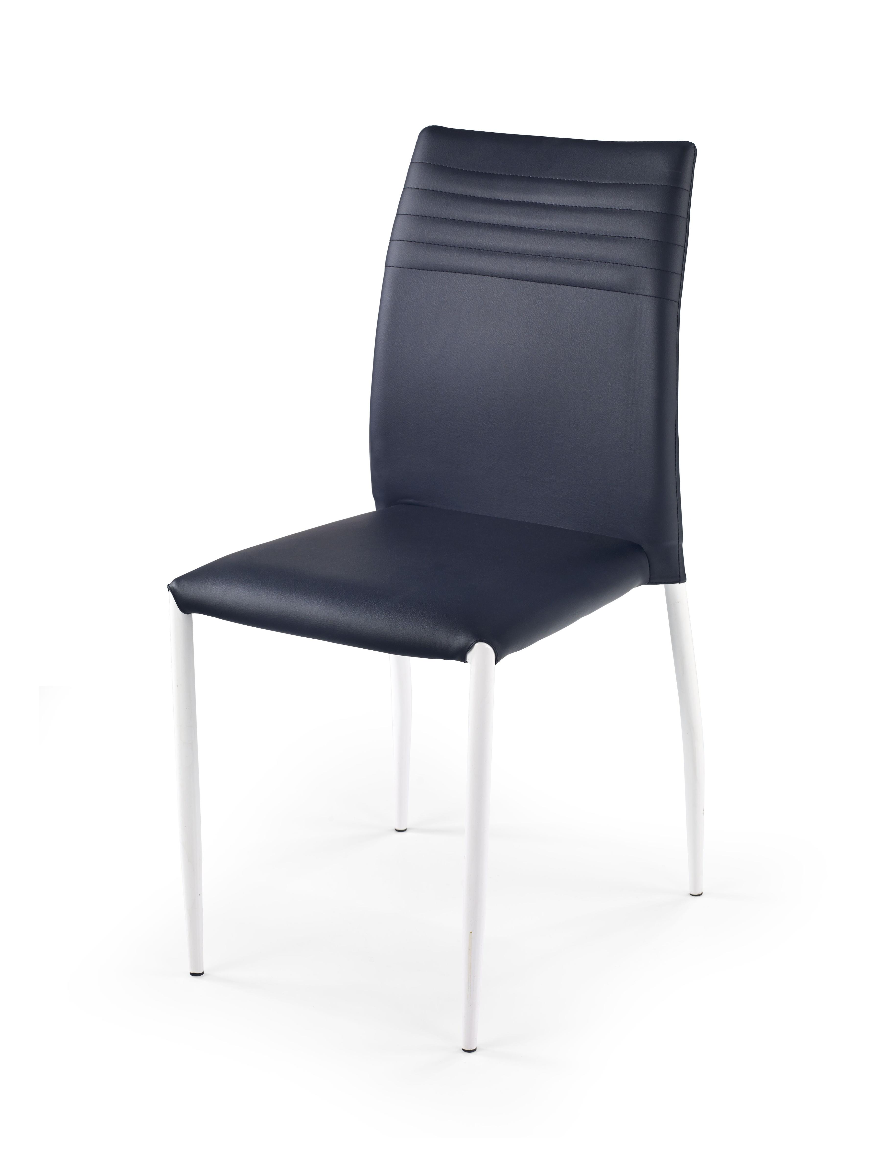 Jedálenská stolička - Halmar - K 168 biela + čierna