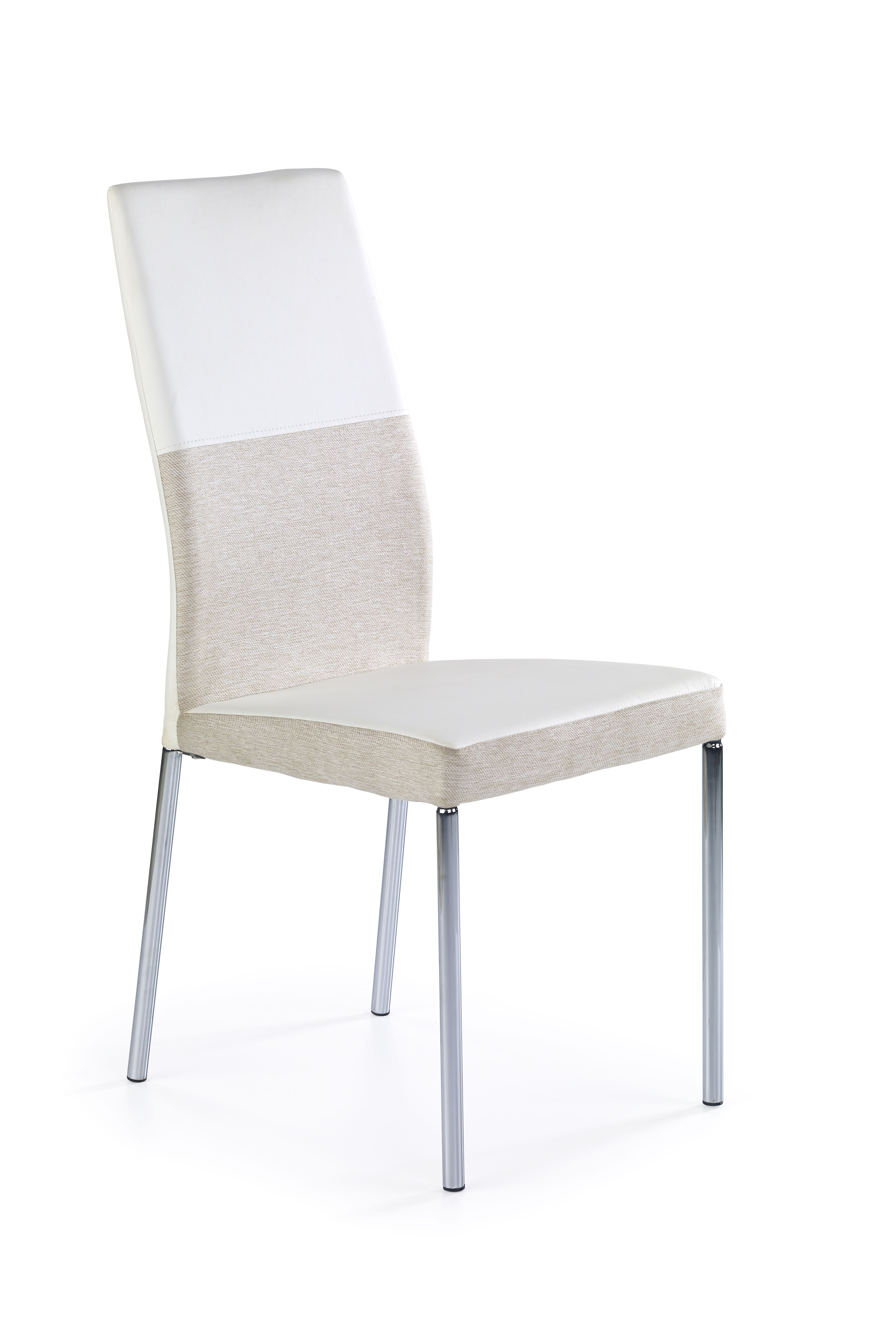 Jedálenská stolička - Halmar - K 173 béžová + biela
