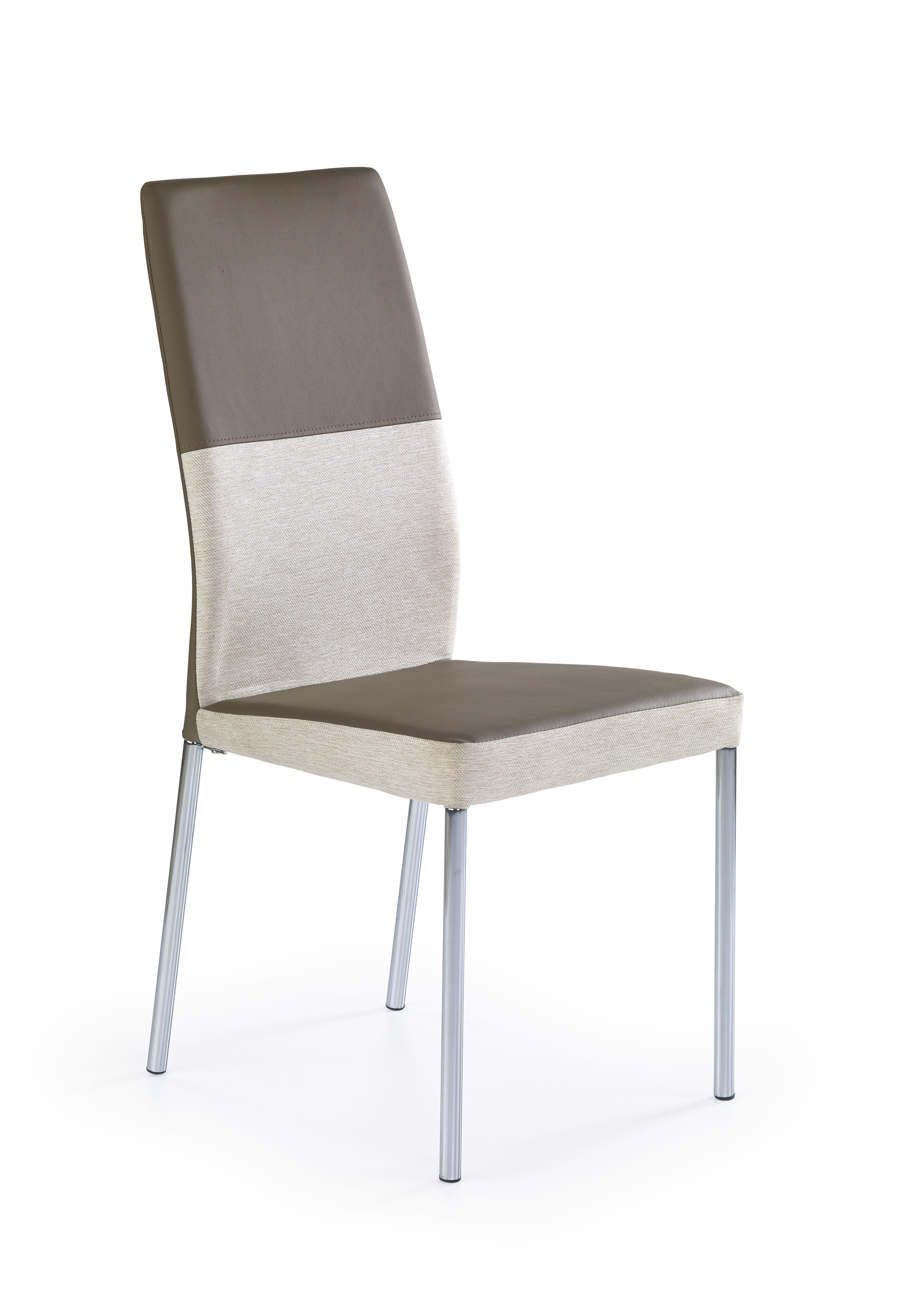 Jedálenská stolička - Halmar - K 173 béžová + svetlohnedá
