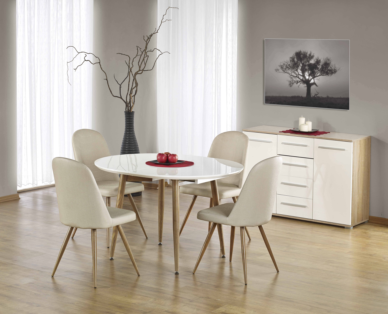 Jedálenský stôl - Halmar - Edward (pre 4 až 8 osôb). Akcia -6%. Sme autorizovaný predajca Halmar. Vlastná spoľahlivá doprava až k Vám domov.