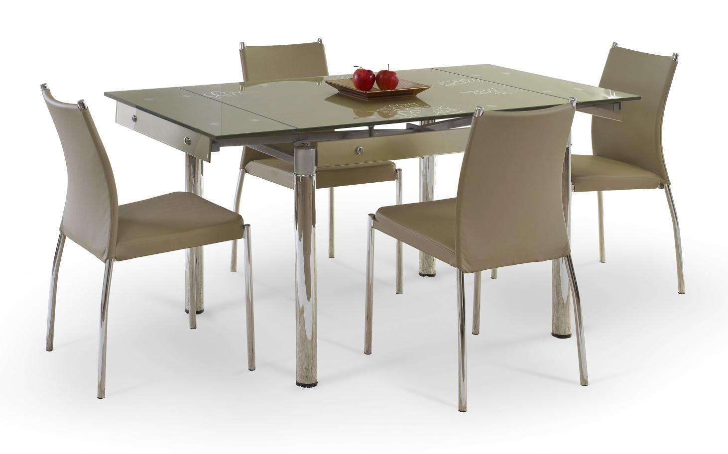 Jedálenský stôl - Halmar - Elton (pre 4 až 6 osôb). Sme autorizovaný predajca Halmar. Vlastná spoľahlivá doprava až k Vám domov.