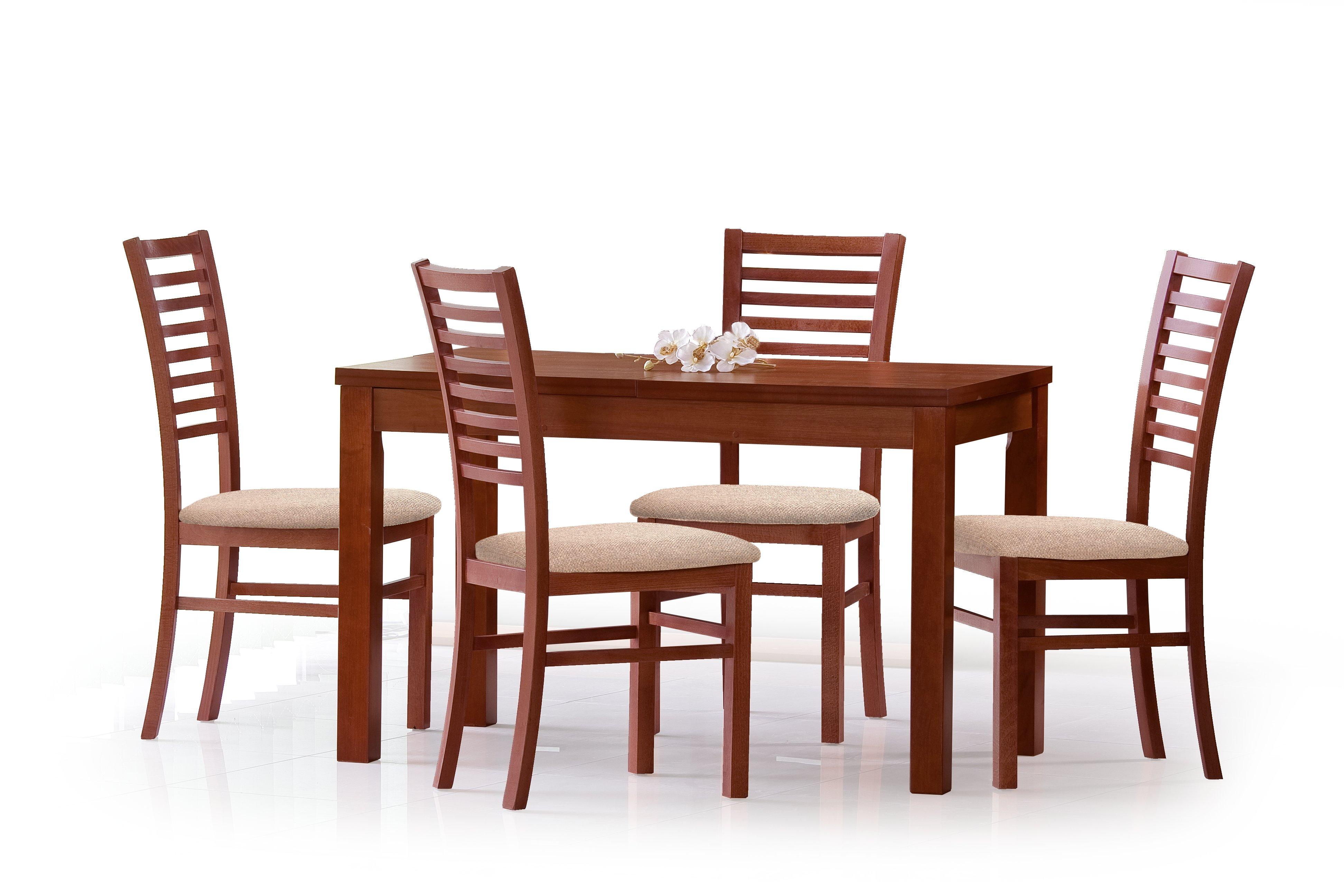 Jedálenský stôl - Halmar - Ernest 120/160 (pre 4 až 6 osôb). Sme autorizovaný predajca Halmar. Vlastná spoľahlivá doprava až k Vám domov.