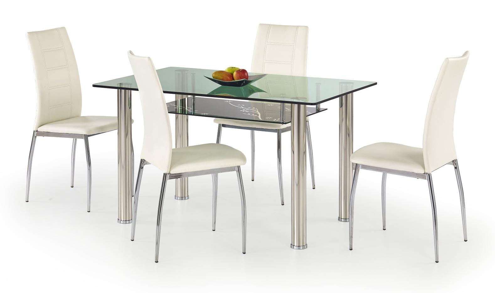 Jedálenský stôl - Halmar - Lenart (pre 4 osoby). Akcia -7%. Sme autorizovaný predajca Halmar. Vlastná spoľahlivá doprava až k Vám domov.