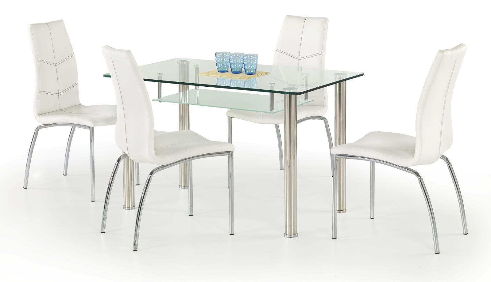 Jedálenský stôl - Halmar - Olivier (pre 4 osoby). Sme autorizovaný predajca Halmar. Vlastná spoľahlivá doprava až k Vám domov.