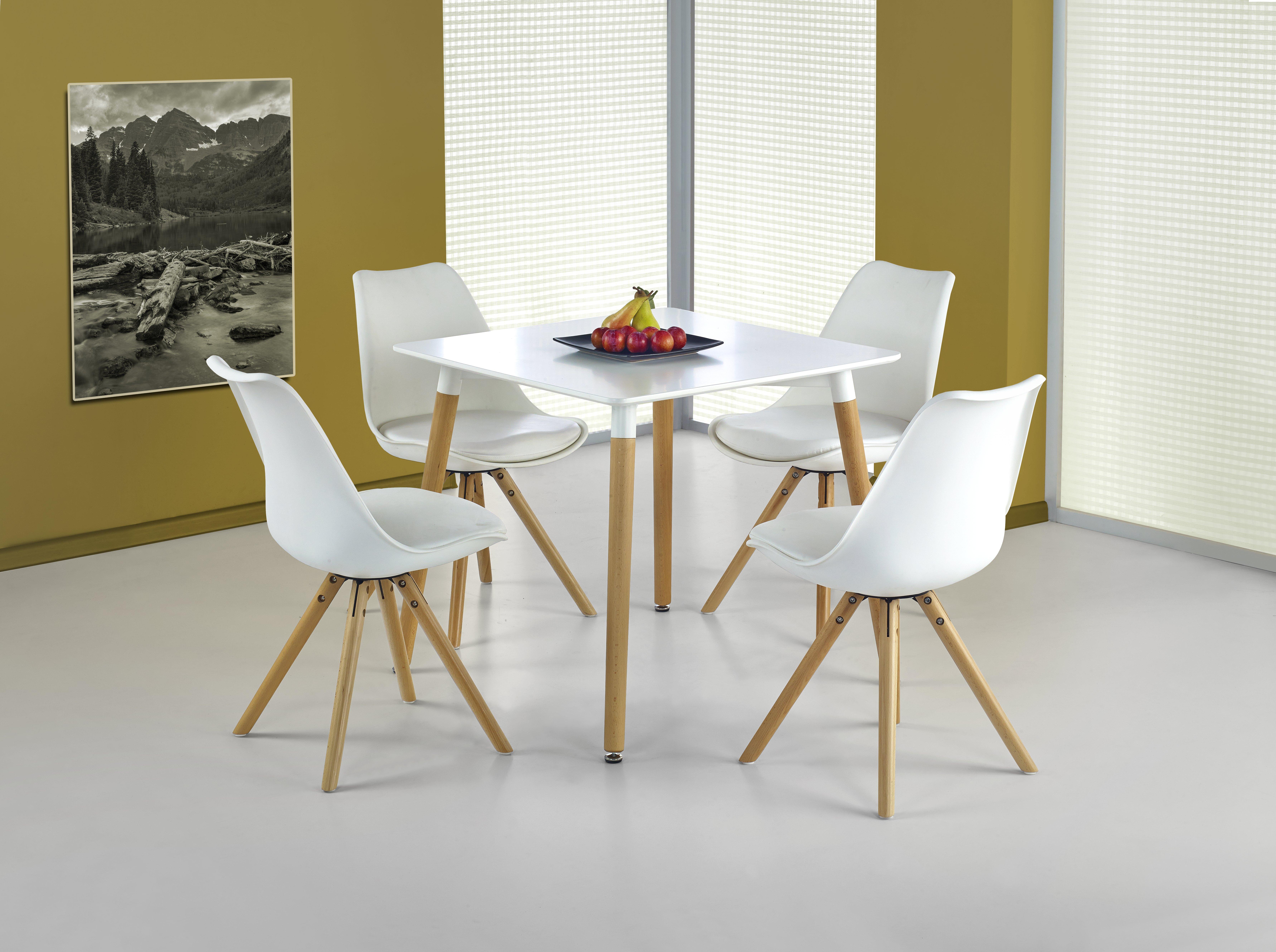 Jedálenský stôl - Halmar - Socrates kwadrat (pre 4 osoby). Sme autorizovaný predajca Halmar. Vlastná spoľahlivá doprava až k Vám domov.