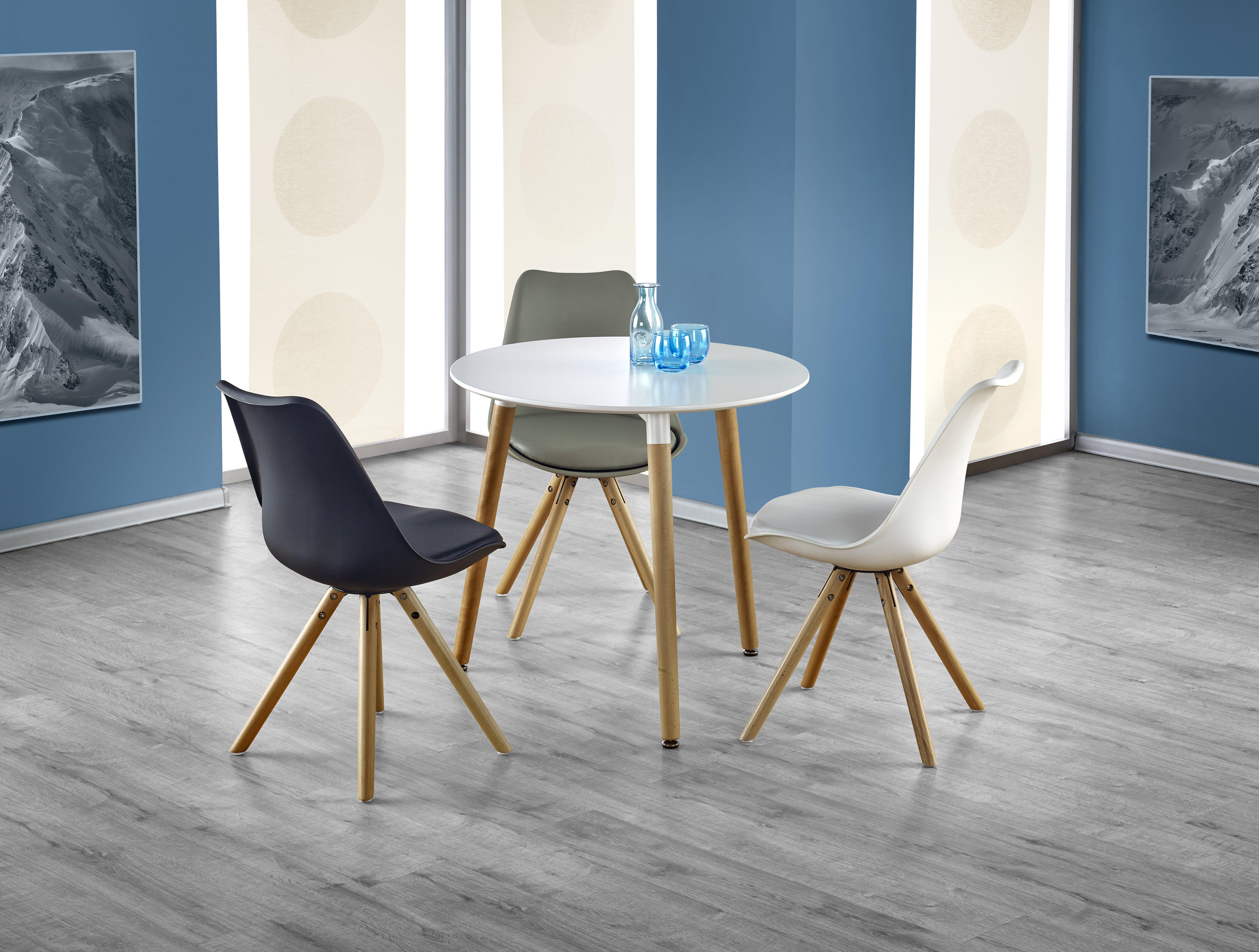 Jedálenský stôl - Halmar - Socrates okrúhly (pre 4 osoby). Sme autorizovaný predajca Halmar. Vlastná spoľahlivá doprava až k Vám domov.