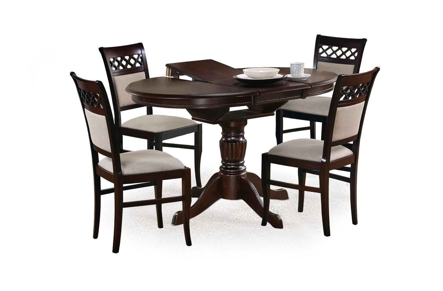 Jedálenský stôl - Halmar - William (pre 4 osoby). Sme autorizovaný predajca Halmar. Vlastná spoľahlivá doprava až k Vám domov.