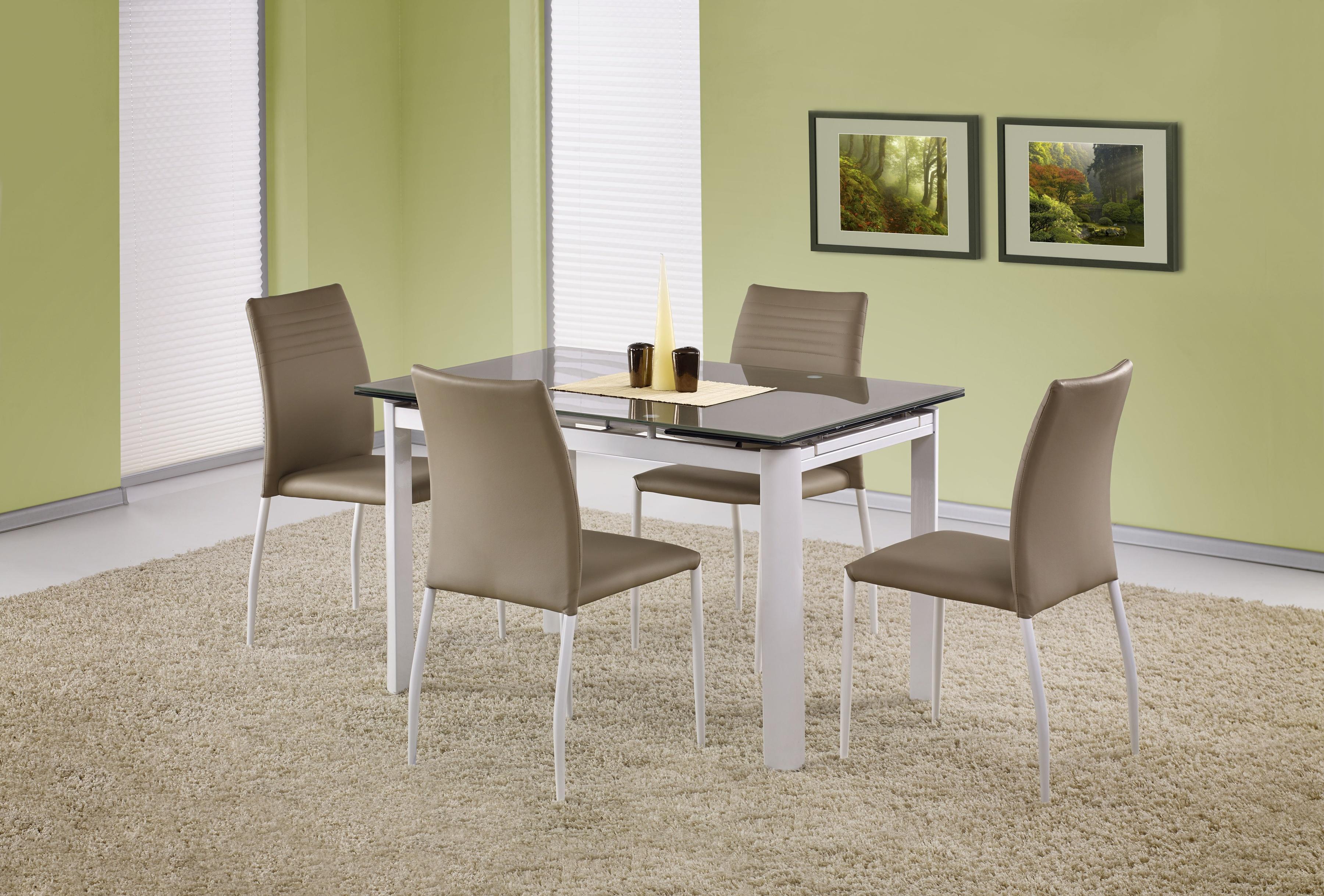 Jedálenský stôl - Halmar - ALSTON béžová (pre 4 až 8 osôb). Sme autorizovaný predajca Halmar. Vlastná spoľahlivá doprava až k Vám domov.