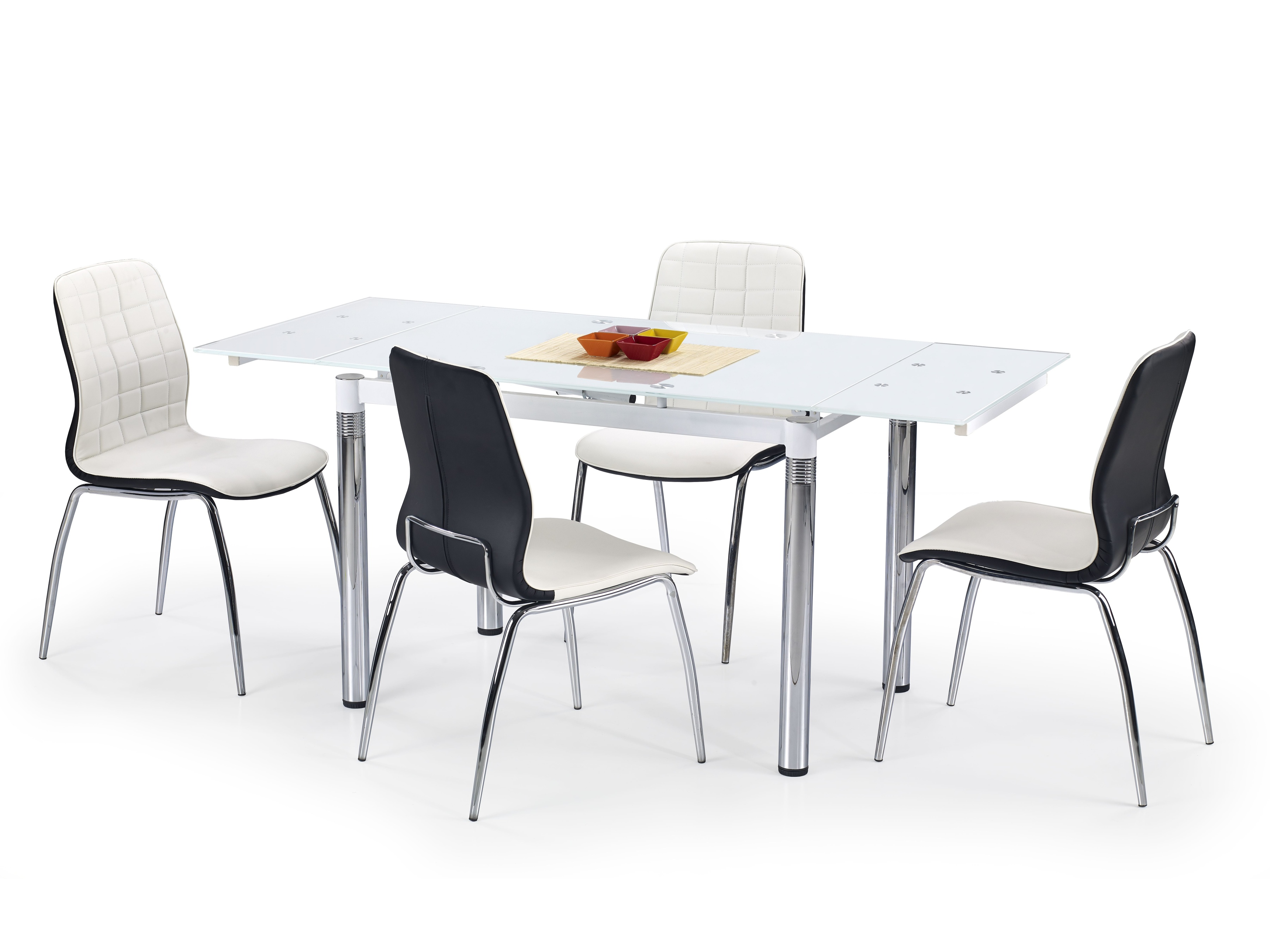 Jedálenský stôl - Halmar - L31 biela (pre 4 až 6 osôb)