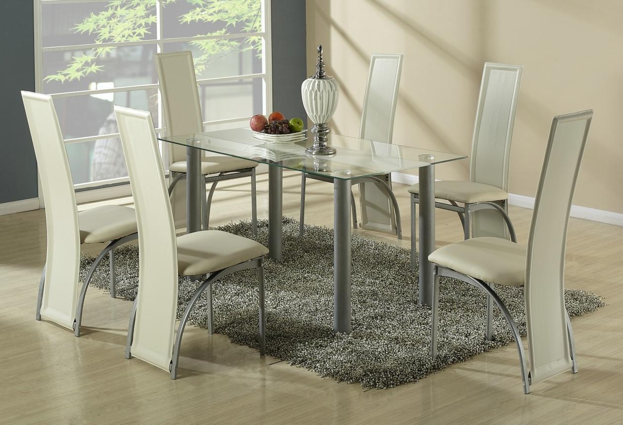 Jedálenský stôl - Halmar - Talon béžový pás (pre 6 osôb)
