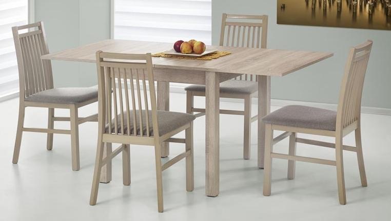 Jedálenský stôl - Halmar - Gracjan dub sonoma (pre 4 až 6 osôb)