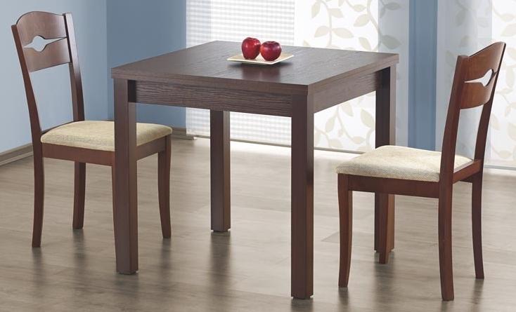 Jedálenský stôl - Halmar - Gracjan orech tmavý (pre 4 až 6 osôb)