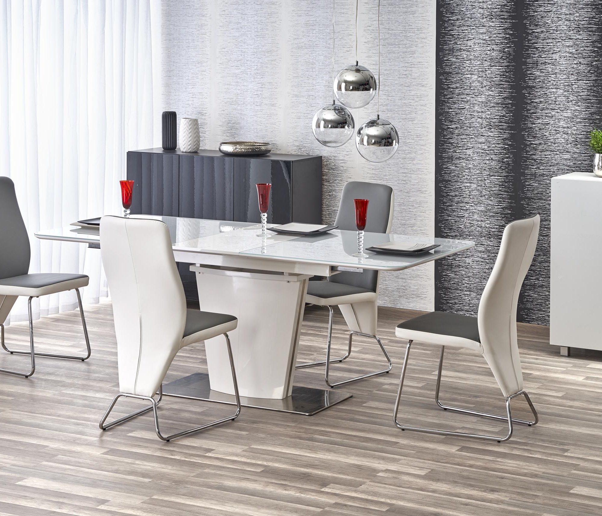 Jedálenský stôl - Halmar - Platon (pre 6 až 8 osôb). Doprava ZDARMA. Sme autorizovaný predajca Halmar. Vlastná spoľahlivá doprava až k Vám domov.