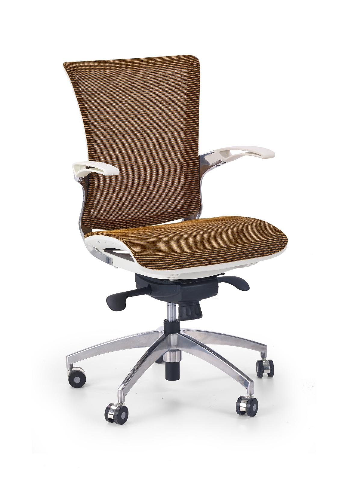Kancelárska stolička - Halmar - Lenox Plus pomarančová
