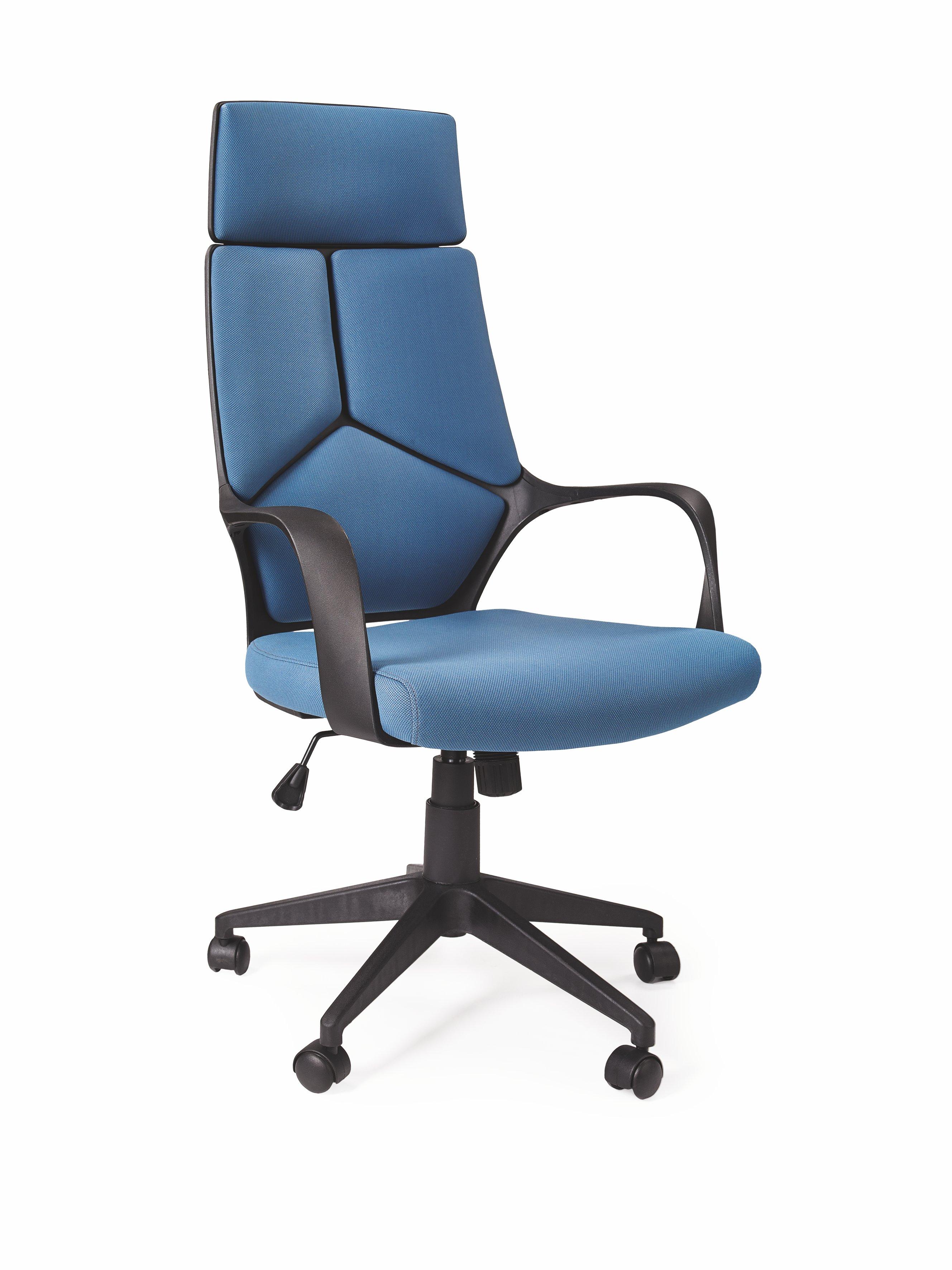 Kancelárske kreslo - Halmar - Voyager (modrá + čierna). Sme autorizovaný predajca Halmar. Vlastná spoľahlivá doprava až k Vám domov.