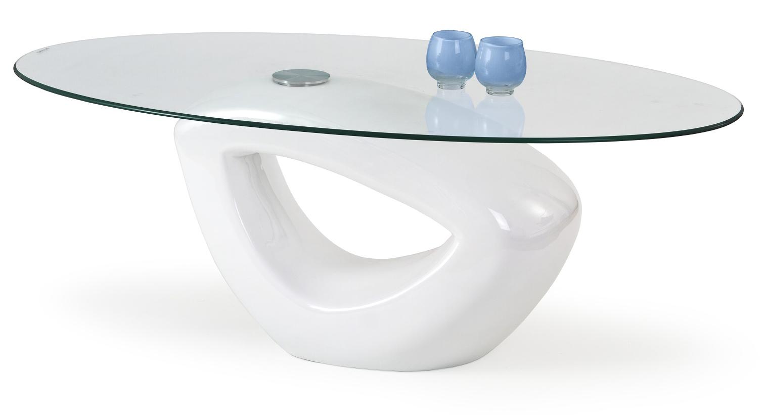 Konferenčný stolík - Halmar - Jasmin biela