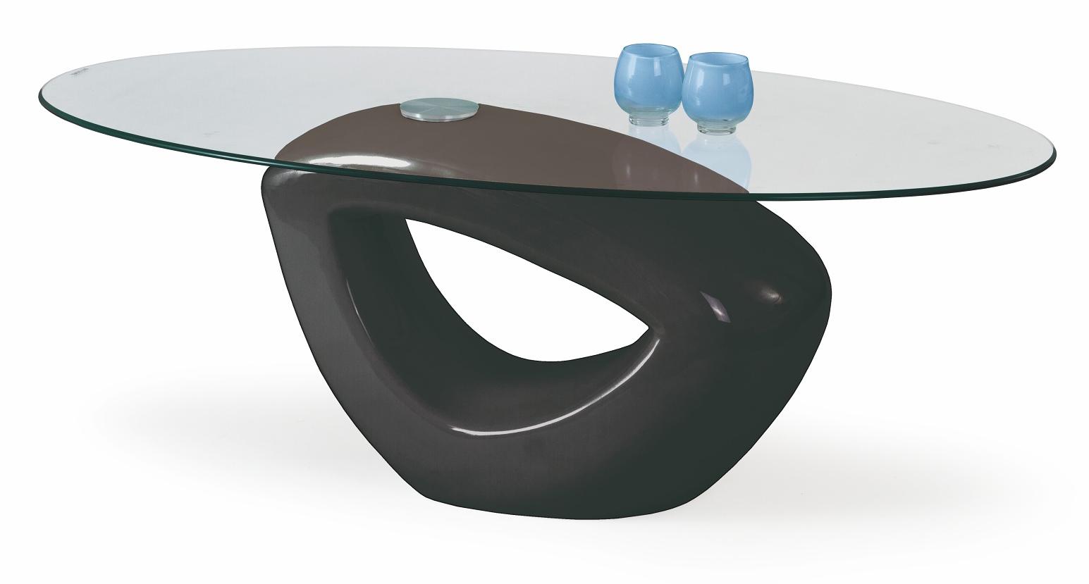 Konferenčný stolík - Halmar - Jasmin čierna