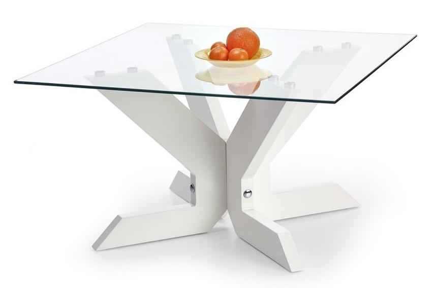 Konferenčný stolík - Halmar - Aisha biely