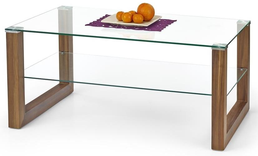 Konferenčný stolík - Halmar - Kelly orech