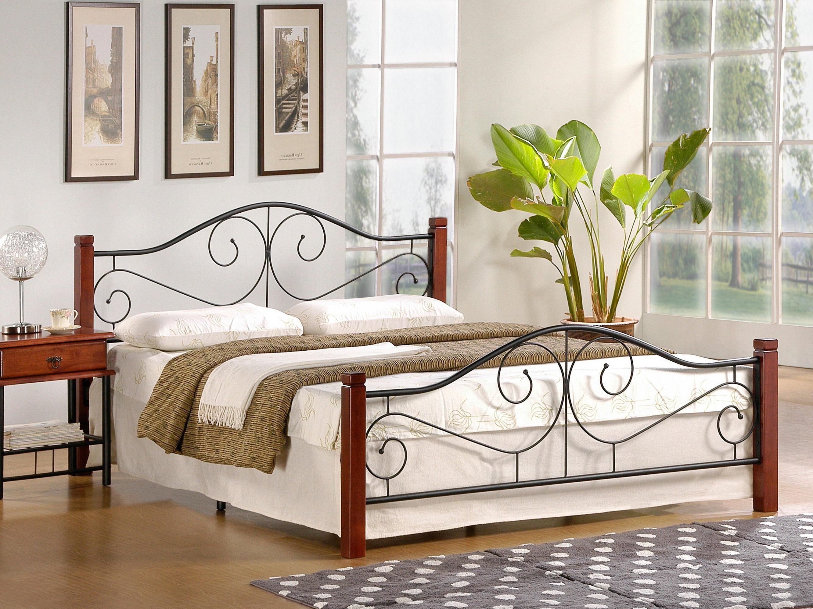Manželská posteľ 160 cm - Halmar - Violetta (s roštom)