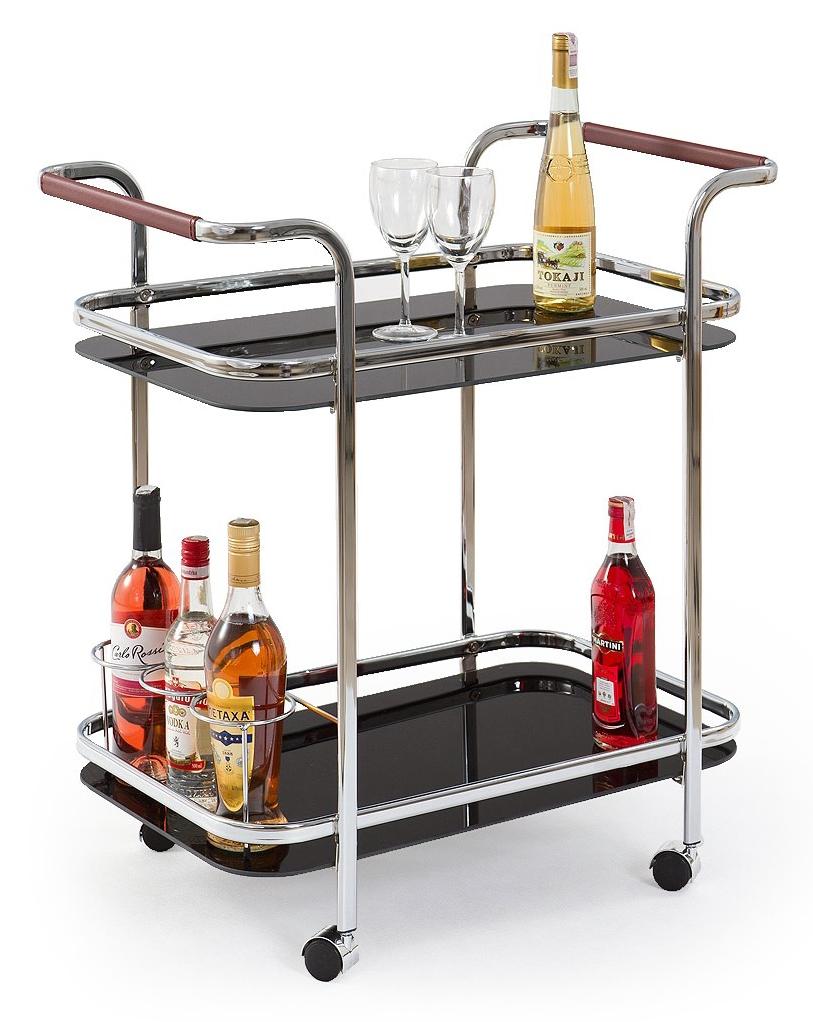 Servírovací stolík - Halmar - Bar-7 čierna. Sme autorizovaný predajca Halmar. Vlastná spoľahlivá doprava až k Vám domov.