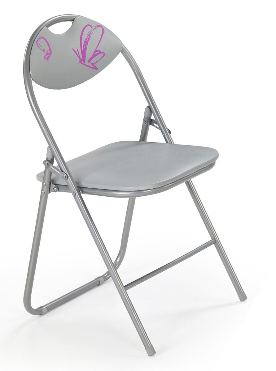 Detská stolička - Halmar - Fox šedá