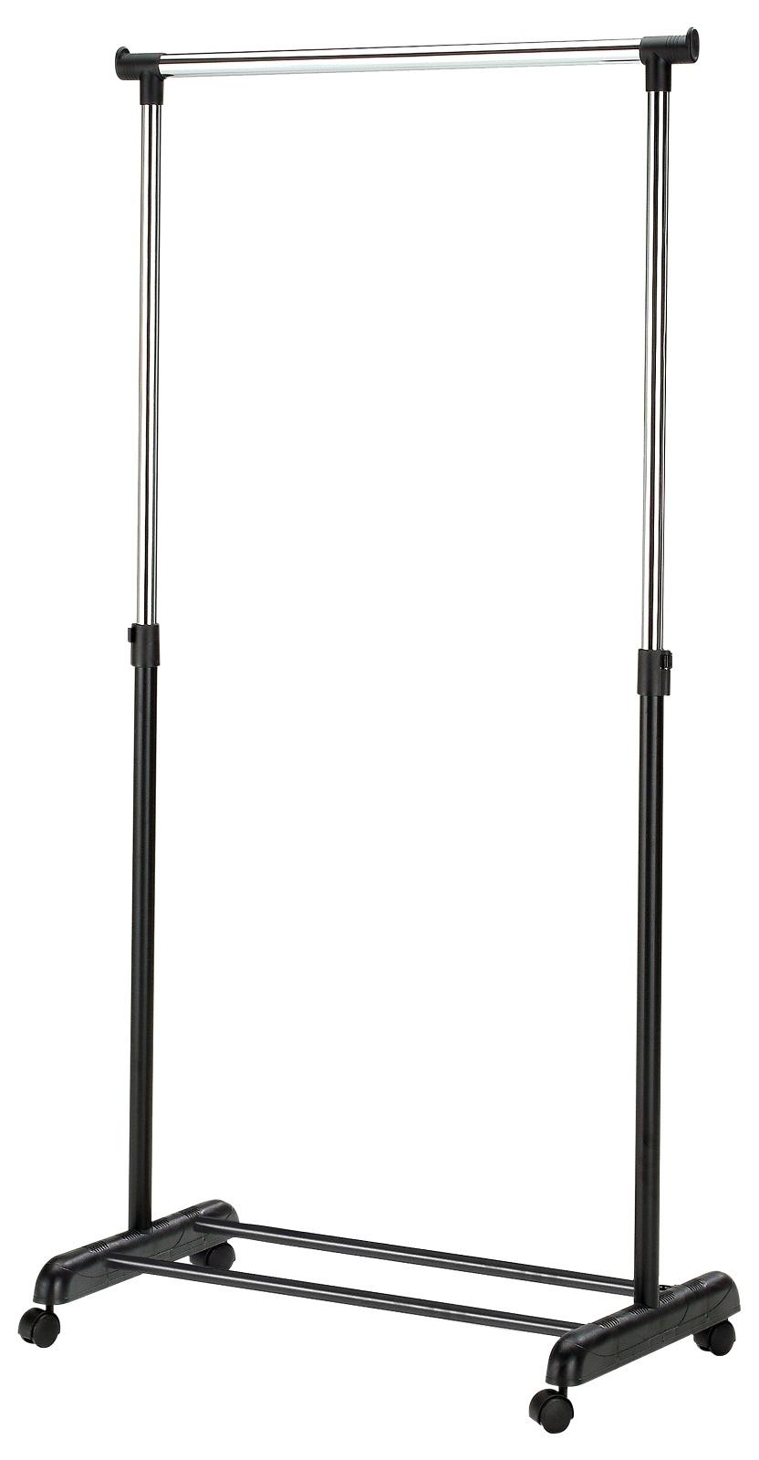 Vešiak na kolieskach - Halmar - WU-8 čierny. Sme autorizovaný predajca Halmar. Vlastná spoľahlivá doprava až k Vám domov.