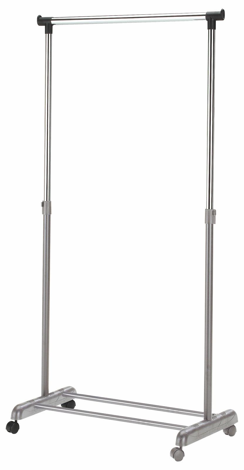 Vešiak na kolieskach - Halmar - WU-8 šedý