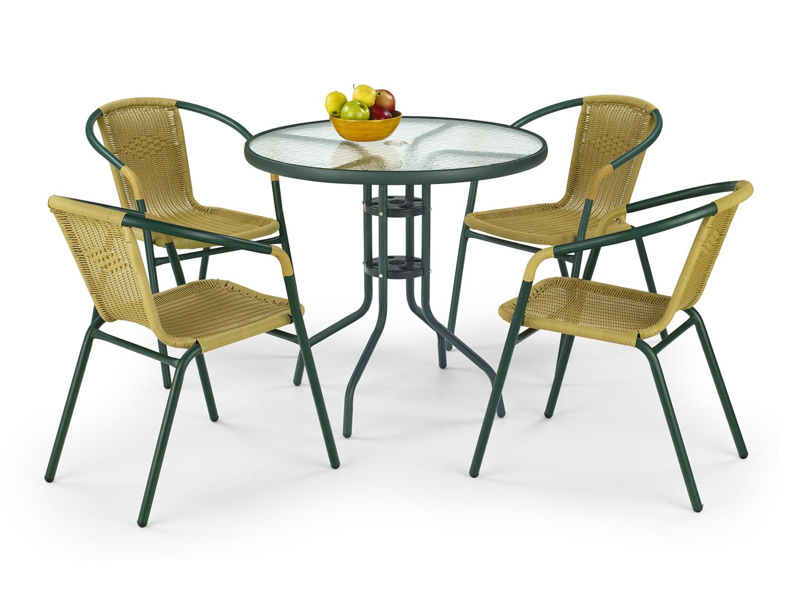 Záhradný stôl - Halmar - Grand 80