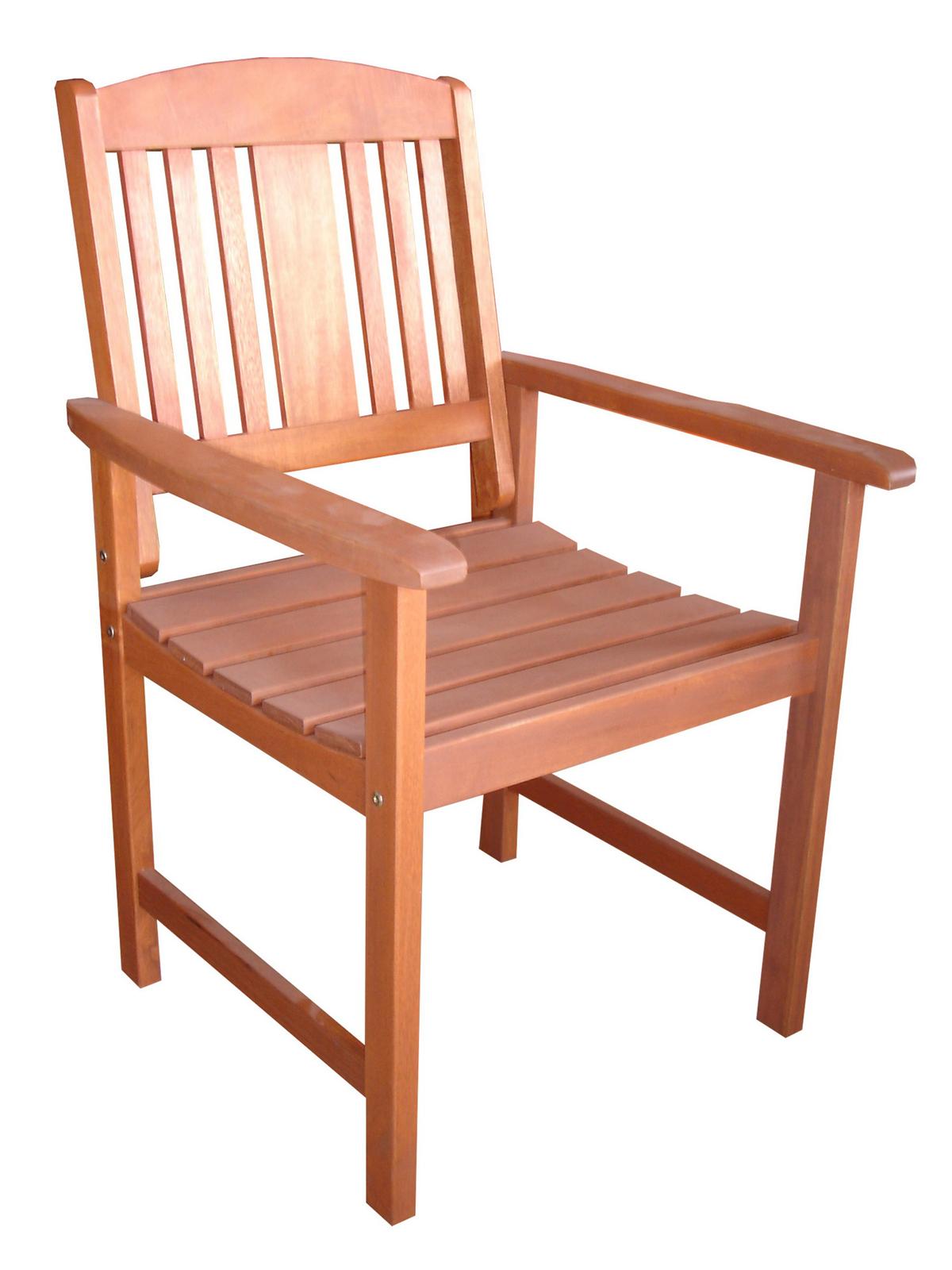 Záhradná stolička - Hecht - Weekend 88288 (meranti)